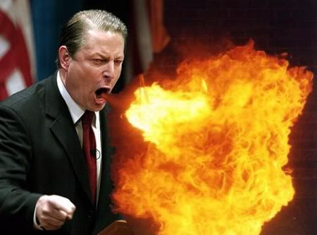 al gore fire breath
