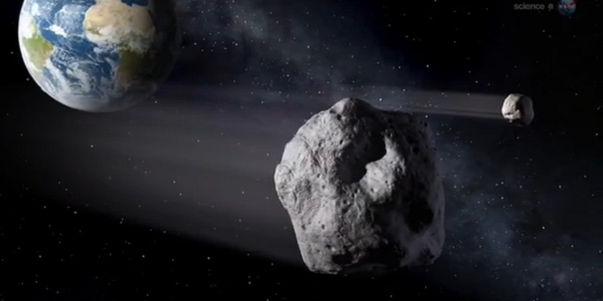 NASA: Possible Seismic Activity on Asteroid 2012 DA14