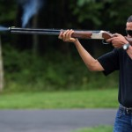 Obama Skeet Shooting Photo: Don't Photoshop, Dares White House