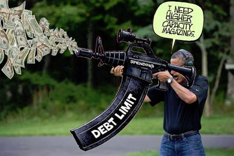 obama skeet debt limit high capacity magazines