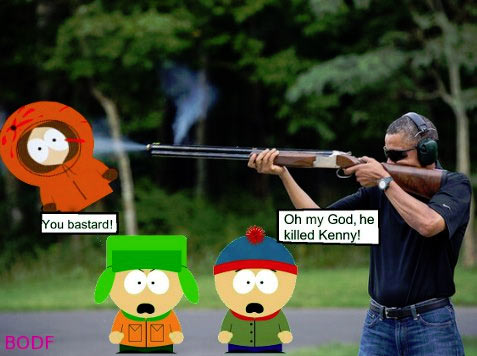 obama skeet south park