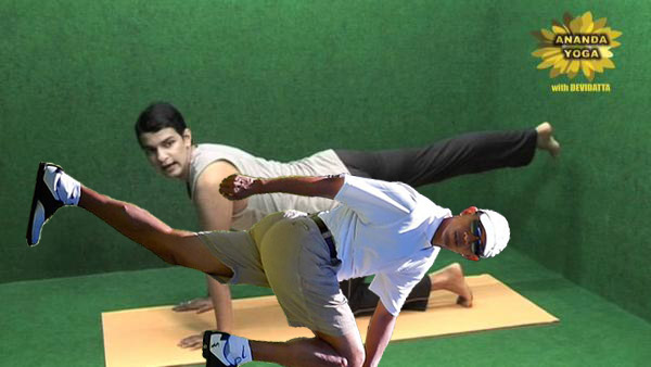 Obama Golf Photoshop President Doing Yoga exercises stretches with a Man Martha's Vineyard