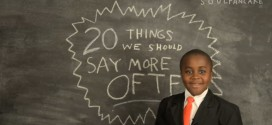 Thanksgiving: Kid President's 20 Things We Should Say More Often