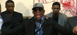 Dennis Rodman crazy strange bizarre fiery screams melts down complete meltdown loses it his mind goes wild North Korea exclusive interview CNN Chris Cuomo New Day Kim Jong Un Jong-un Communist dictator basketball game former NBA players friends Kenneth Bae held captive prisoner citizen detained labor camp Loses What's Left of His Ever Loving Mind