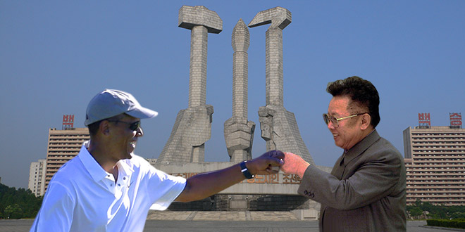 President Obama Fist Bumps the World's Worst Dictators and Despots (Photoshop)
