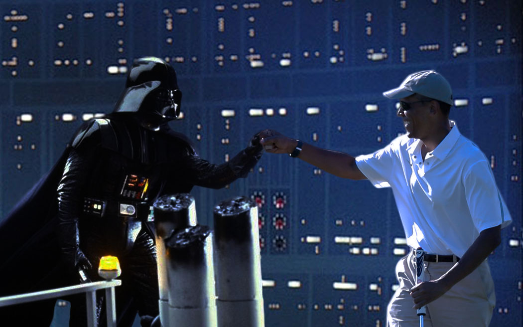 Image result for Obama vader