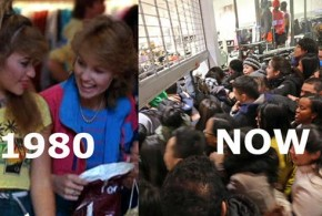Black Friday 1983 vs. NOW – People vs. Animals YouTube video On Point Preparedness consumer consumerism society civil civility chaos selfish crazy people material culture