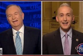 "Trey Gowdy Bill O'Reilly Fox News Impeach Impeaching President Obama ""Have you met Joe Biden?"" Rep South Carolina House Judiciary Committee Subcommittee on Immigration and Border Security The Factor No-Spin Zone"