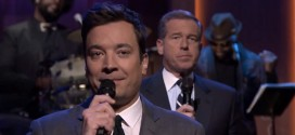 Slow Jam The News Immigration with Brian Williams The Tonight Show Starring Jimmy Fallon The Roots groove sexy sex jokes President Obama NBC Nightly News anchor funny sketch skit music musical December 2, 2014 episode