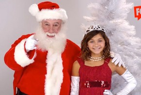Swearing Sexist Santa VS. 6 Year-Old Potty-Mouth Princesses FckH8.com Christmas video gender-based wage gap income inequality cursing F-bombs for feminism fuck shit shitty curse words innocence liberal activist T-shirt company