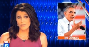 Fox 5 San Diego News Labels President Obama a Rape Suspect TheBlaze KSWB-TV anchor Kathleen Bade No Charges