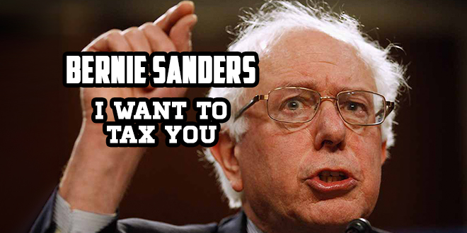 "Bernie Sanders – ""I Want to Tax You"" – New Satirical Song"